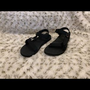 Shoes - ALL BLACK TEVA's BONNAROO EDITION